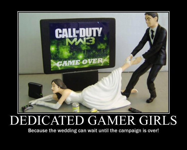 dedicated gamer girls