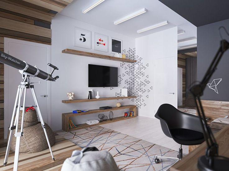 Подростковая комната в современном стиле - фото 3