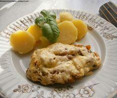 Kto ugości moich gości?: Schab zapiekany pod pierzynką warzywno-serową