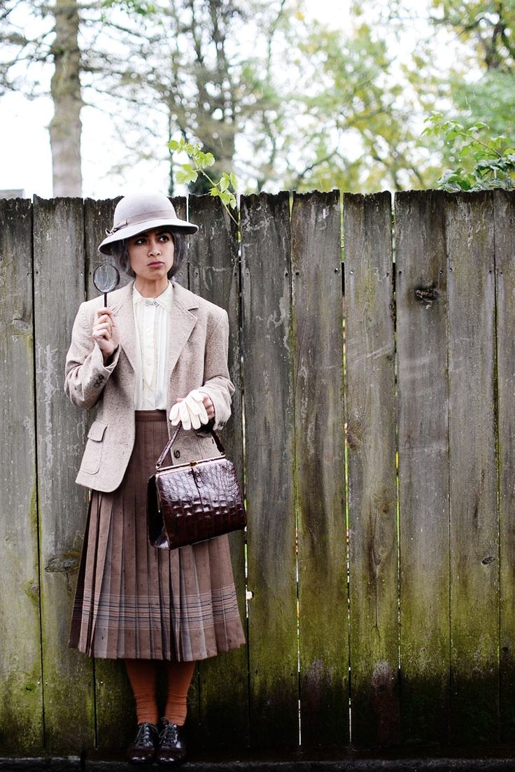 Adorable! Vintage Miss Marple Costume - Adored Vintage