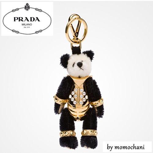 【最新作入荷♪】PRADA*クマのキーリングEttore-2015SS☆1ARI20(15579275):BUYMA (バイマ)