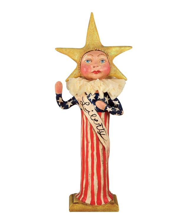 """I Pledge"" Liberty Lady 