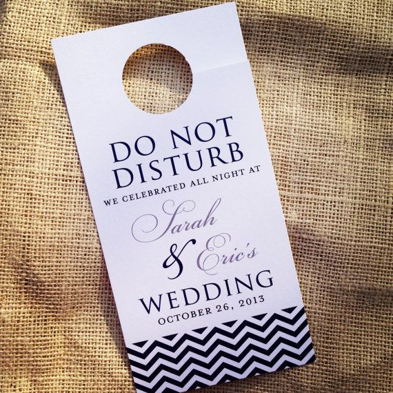The 25+ best Wedding door hangers ideas on Pinterest Hangers for - wedding door hanger template
