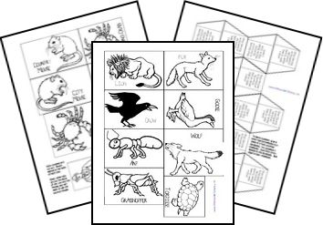 Free Aesop's Fables Lapbook