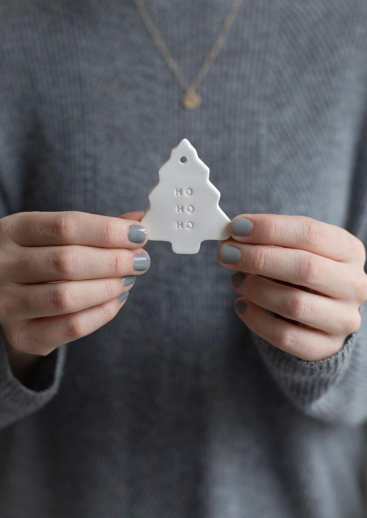 DIY Geschenkanhänger aus Fimo für Weihnachten