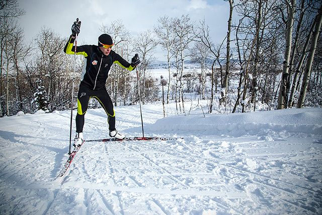 Nordic skiing techniques with Billy Demong