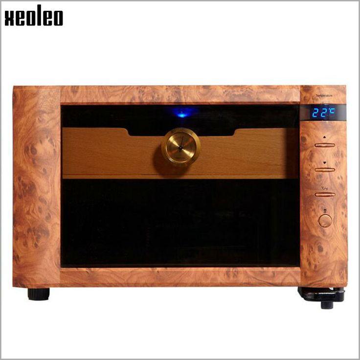Xeoleo Mini Cigar humidity & Wine Cooler 23L Cigar cabinet Thermostatic&Constant humidity Cigar Storage Box Wine Refrigerator