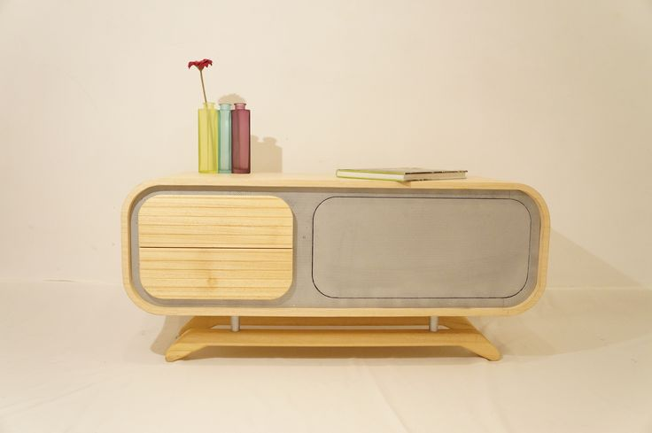 "Made by A I T O, Bucharest - Romania ""Amee"" Sideboard Designer: Alex Dabuleanu and Diana Tanase  https://www.facebook.com/ladesignarie?fref=ts"