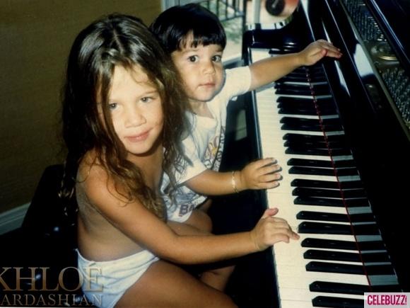 Khloe + Rob Kardashian. Awwww.