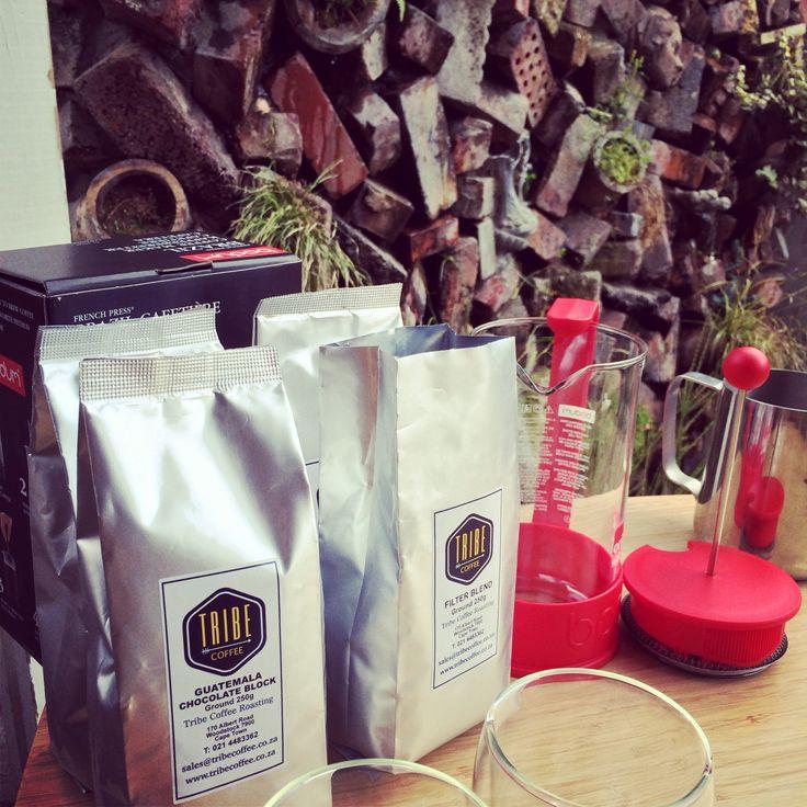 Silver Bags in #picknpay. #tribecoffee www.tribecoffee.co.za