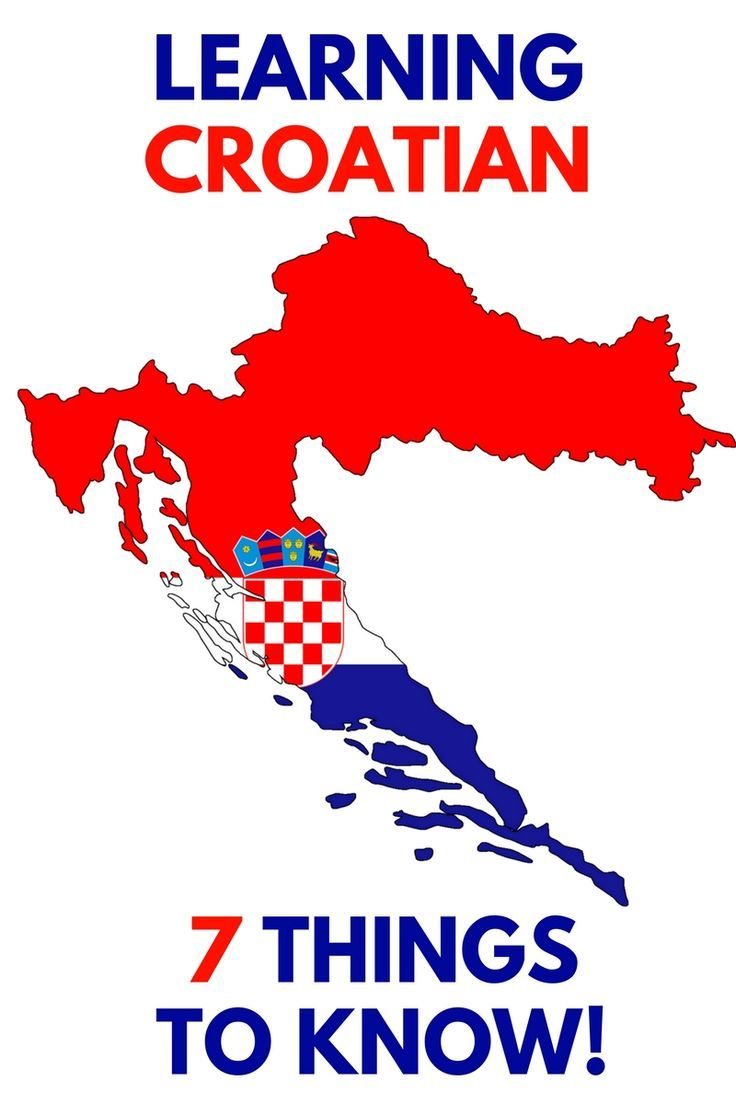 Croatia Travel Blog: So, you want to learn Croatian, either from the beginning or brush up on what you learned as a kid huh? Here are 7 things you need to know before you embark on your Croatian language adventure as written by language professor Mateja Hrvat.