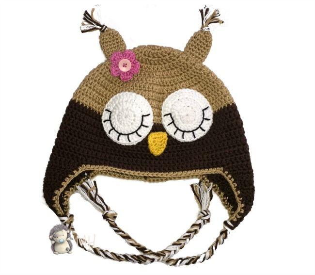 116 best Ganchillo - gorros images on Pinterest | Ganchillo crochet ...