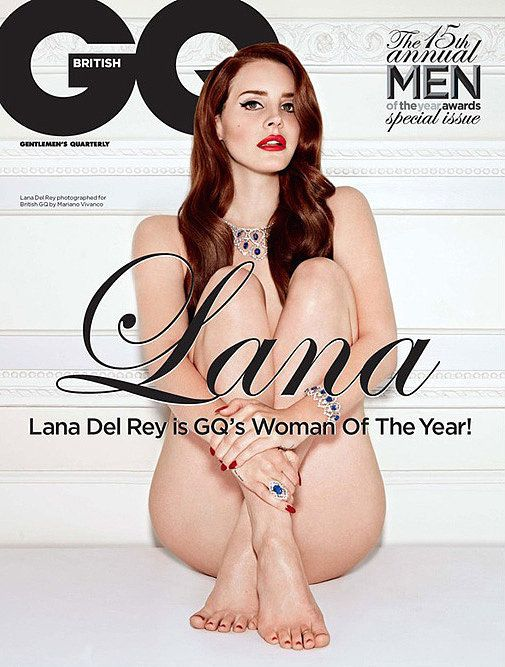 Lana Del Rey For British GQ, December 2012