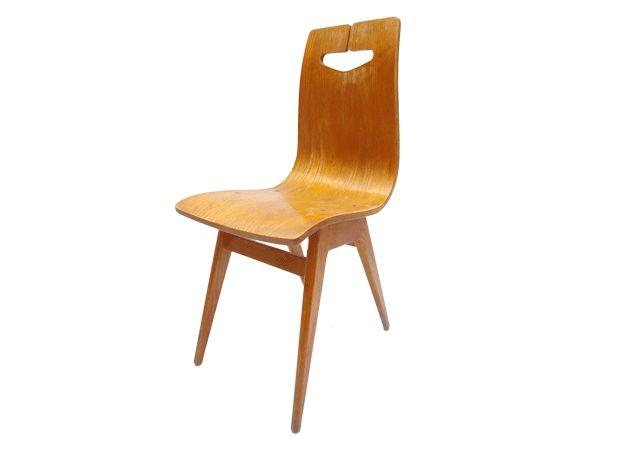 Krzesło, proj. Rajmund Hałas, 1960.