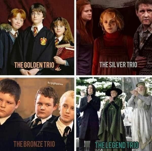 Harry Potter Trios Harry Potter Trio Movies