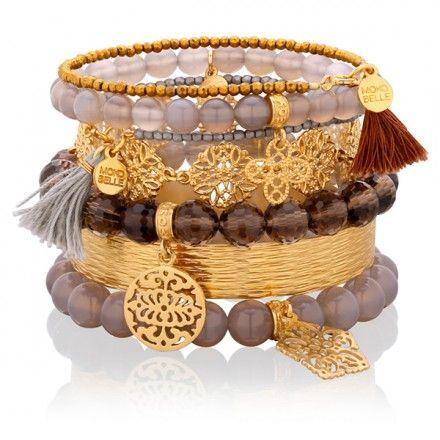 Gorzka czekolada #mokobellejewellery #mokobelle #bracelet #jewelery #collection #fashion