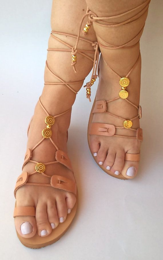 leather sandalsgladiator sandals.womens by FEDRAinspirations