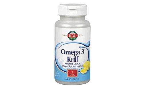 Omega-3 Krill Kal ayuda a mejorar la salud de la piel y lucha contra los signos del envejecimiento. Ayuda a mejorar la salud de las articulaciones y a disminuir la inflamación. Ayuda a aliviar los síntomas pre-menstruales y el dolor de menstruación.