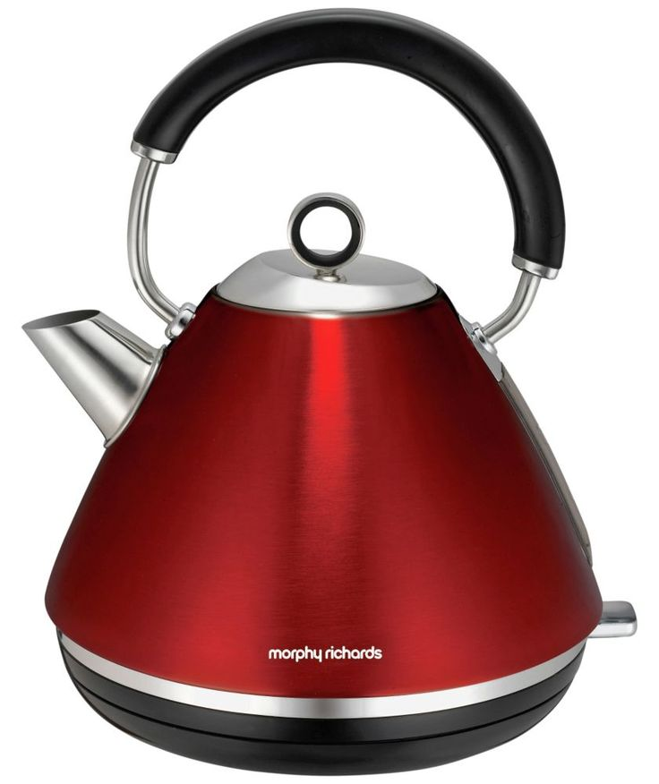 Red kettle morphy richards