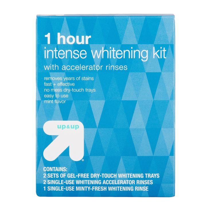 1-Hour Intense Teeth Whitening Kit - up & up