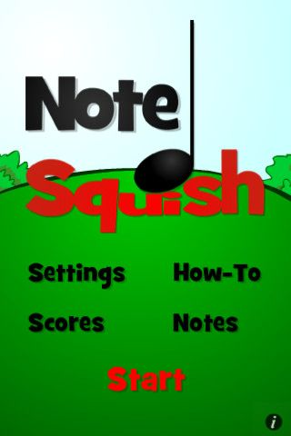 Note Squish is a fun game to learn notes.  Would have been helpful two weeks ago as I tried my best to remember high school music theory during a history lesson, of all things.