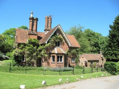 Victorian lodge to Chenies Manor, Chenies village, UK