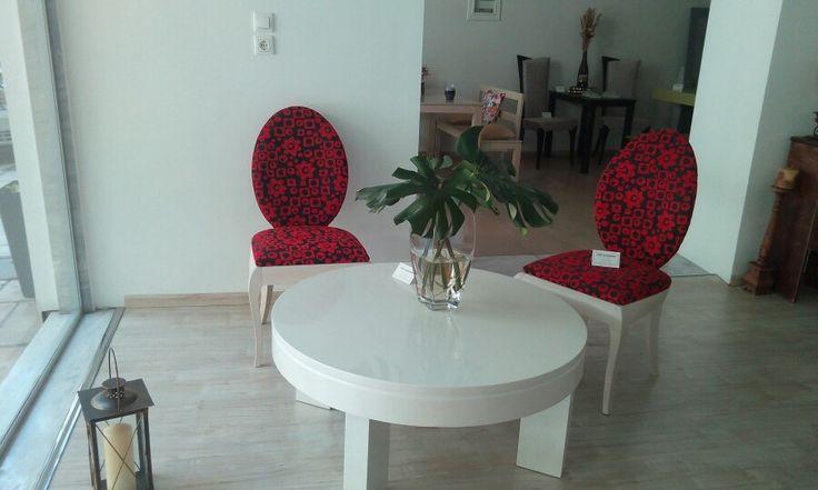 Very modern coffee table!