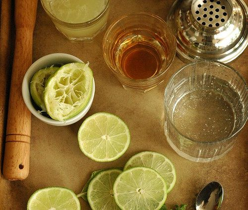 Spiced Honey Mojito. (Simple Syrup Made With Honey Instead