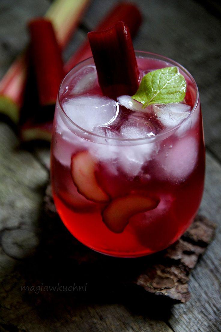 Drink rabarbarowy na 5 urodziny bloga