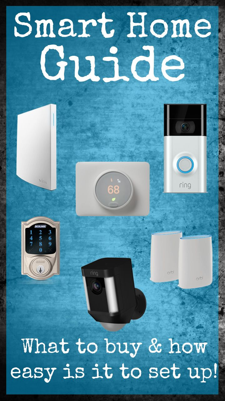 How My Dumb Home Got To Be A Smart Home Lazy Guy Diy Wireless Home Security Systems Home Security Systems Diy Home Security