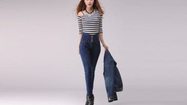 Stylish Tips To Look Trendy With High Waisted Jeans