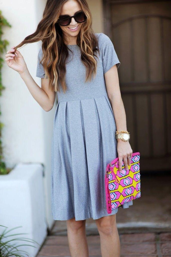 Luce encantadora con este vestido. #diy #vestido #costura
