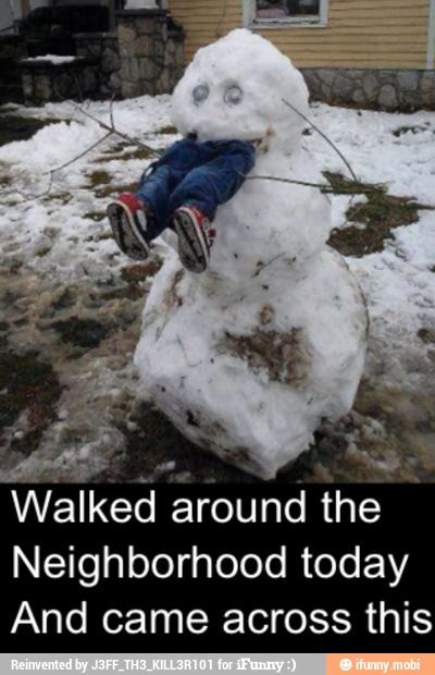 If it snowed here I would do this...