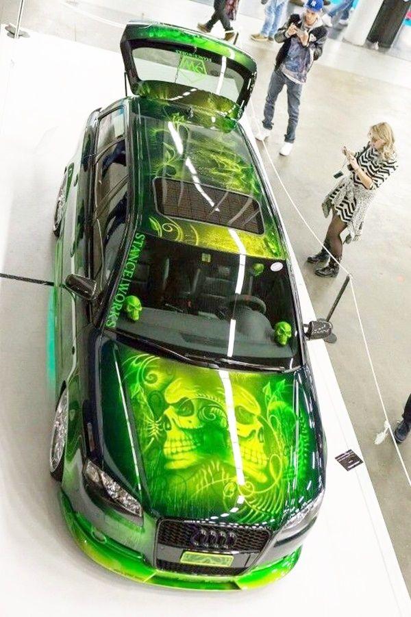40 Super Cool Car Paint Job Art Ideas Custom Cars Paint Car Paint Jobs Car Painting