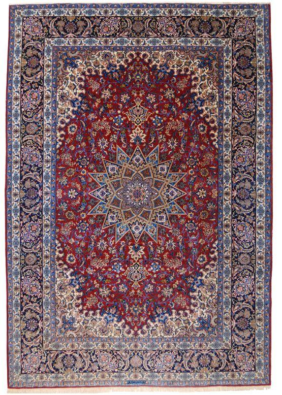 il più classico dei disegni adottato dai tappeti persiani