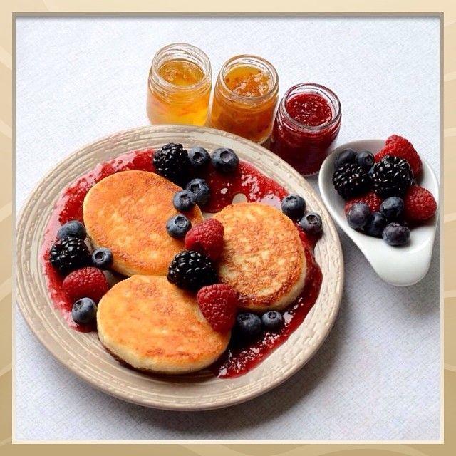 Сырники на завтрак :-)