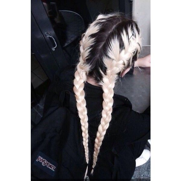 black and white, blonde, boho, braids, brunette, goals, grunge, hair,... ❤ liked on Polyvore featuring accessories, hair accessories, hair, hippie hair accessories, bohemian hair accessories, vintage hair accessories and boho hair accessories