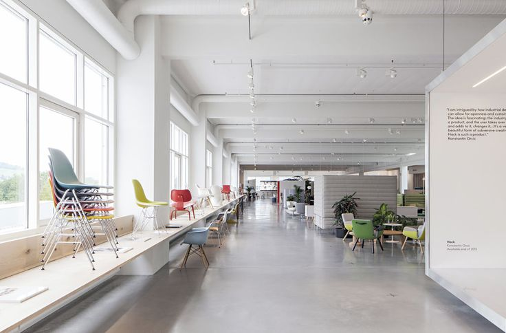 Workspace - Vitra Office showroom and experimental laboratory. The structure of…