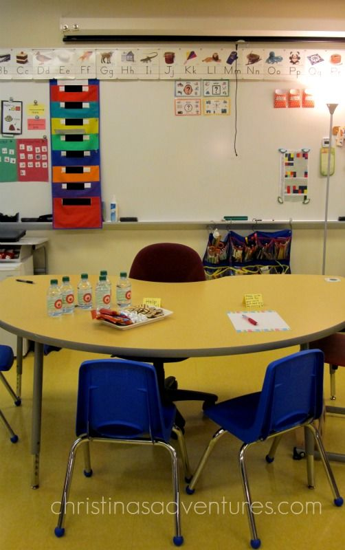 Organization and set-up for centers in a Primary Autism Support classroom in a public school