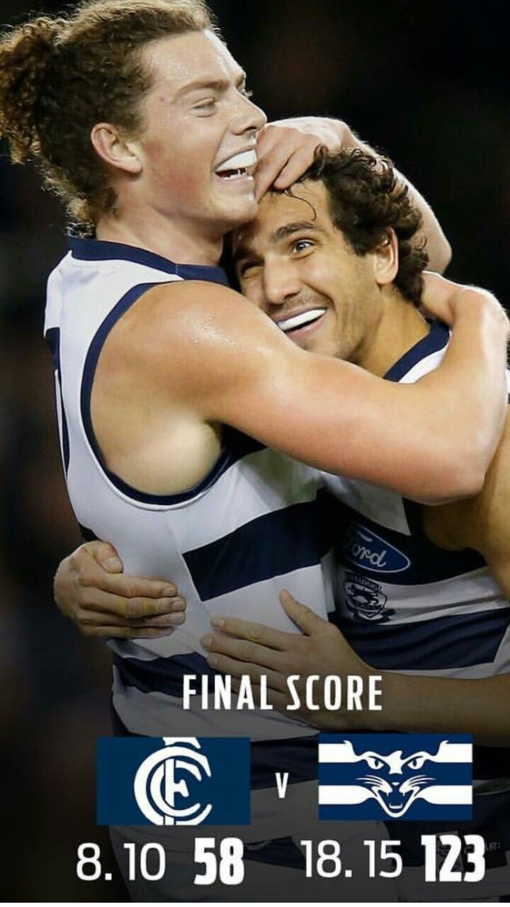 Round 19    A great win over the Blues, a winning side put in this week.... Buzzy & Cocky