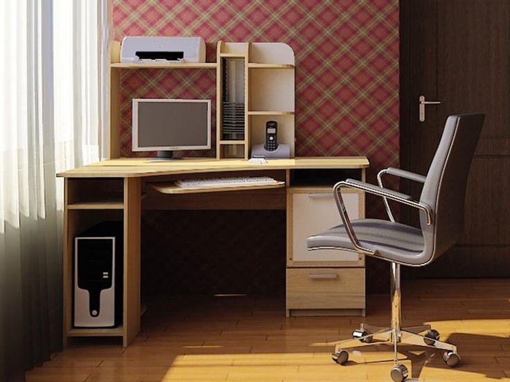 Компьютерный стол «Бэйсик Классик» в интернет-магазине «Любимый Дом» - lubidom.ru #lubidom