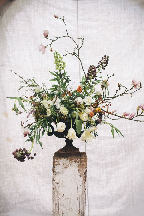 Florist Friday : Behind the Scenes at a 1:1 Class with Jo Flowers | Flowerona (Image : Joanna Millington)