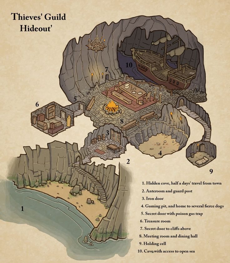 24 Amazing, Homemade Dungeons & Dragons Maps – #Am…