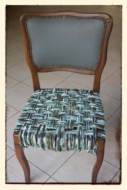 Reciclado de silla - Upcicled chair - Mamy a la obra