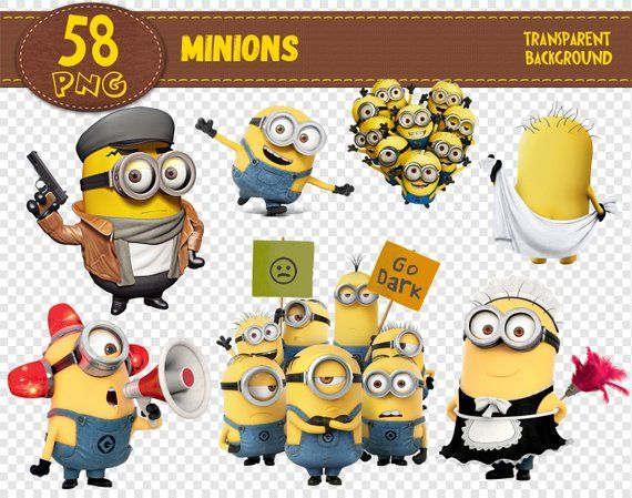 Minions Clipart Minions Characters Minions Png Printable