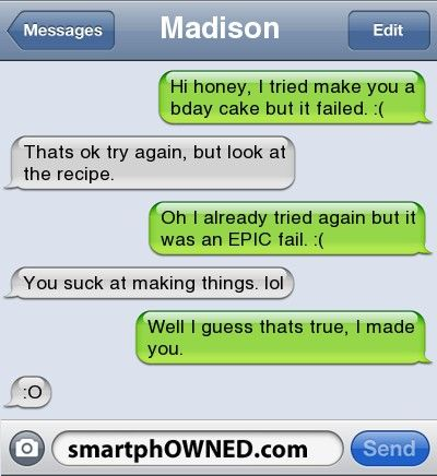 15 Not So Sweet Texts Involving Sweets - Autocorrect Fails and Funny Text Messages - SmartphOWNED