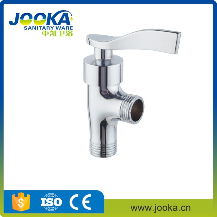 Faucet accessory zinc alloy handle 1/2 angle stop valve for water