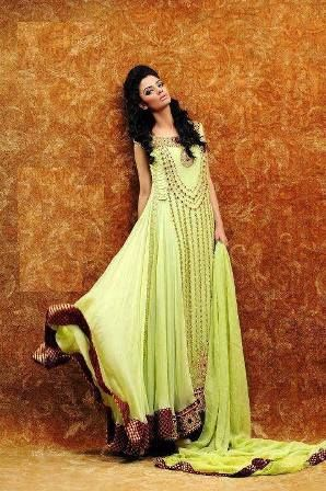 New Patterns Pakistani Salwar Kameez Collection 2014, (2)