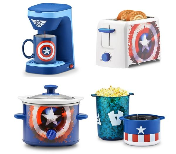 Captain America Gets A Patriotic Line Of Kitchen Appliances