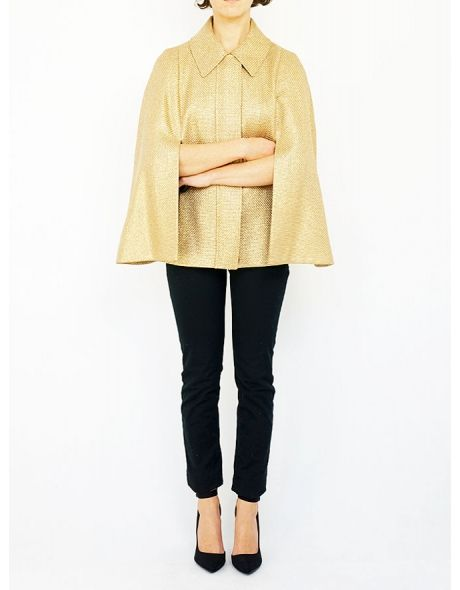 ESCADA golden cape.